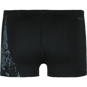 speedo Boomstar Placement Aquashorts Miehet, black/oxid grey